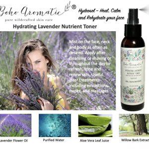 Hydrating Lavender Nutrient Toner