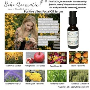 Positive Vibes Facial Oil Serum