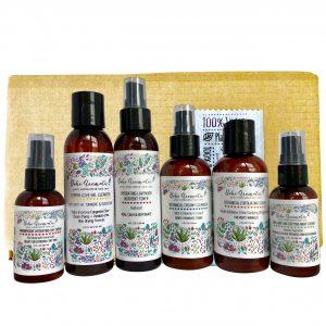 ULTIMATE BOHO Top Skincare Bundle – Gift Set 6 Full Bottles Top Sellers!